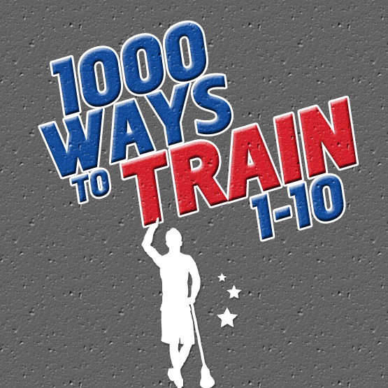 1000 Ways to Train 1-10