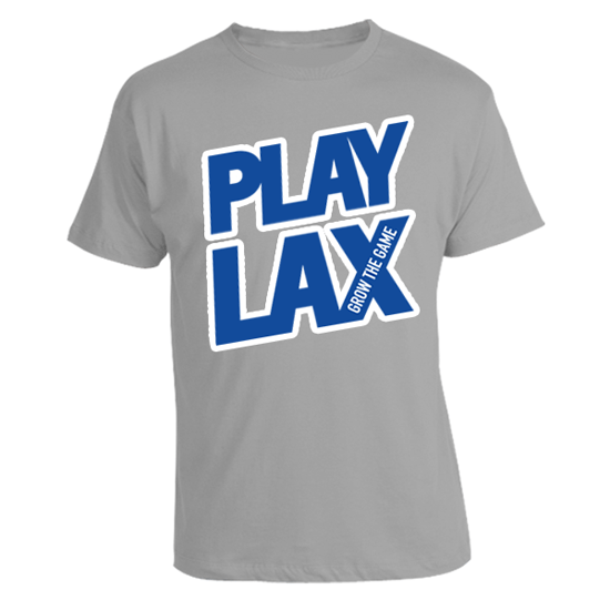 LAS Spring 'Play Lax' in Grey