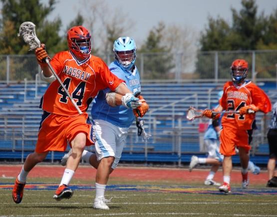 Onondaga CC Nassau CC lacrosse