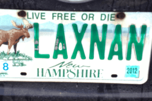 lacrosse license plate