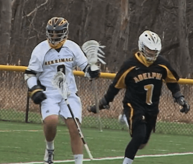 merrimack adelphi lacrosse