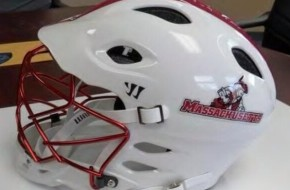 umass warrior lacrosse helmet