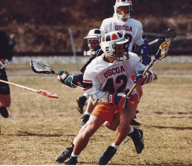 Sean Cross 1994 USCGA lacrosse