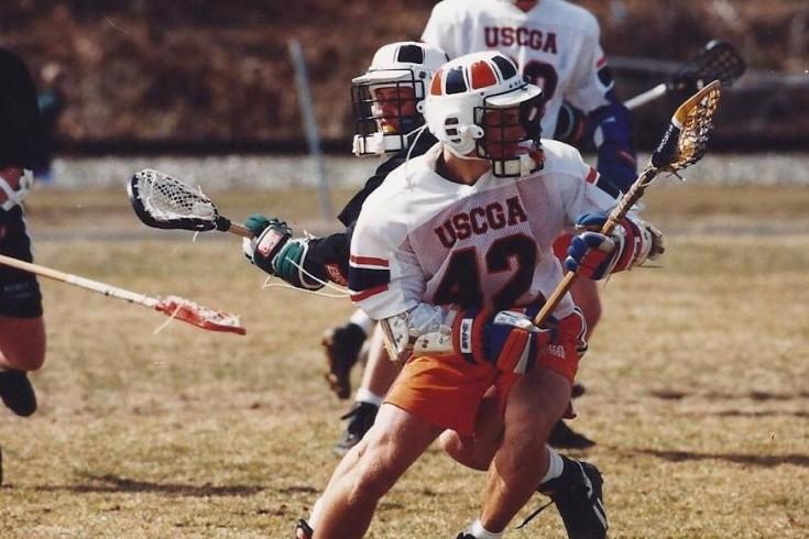 Sean Cross 1994 USCGA lacrosse