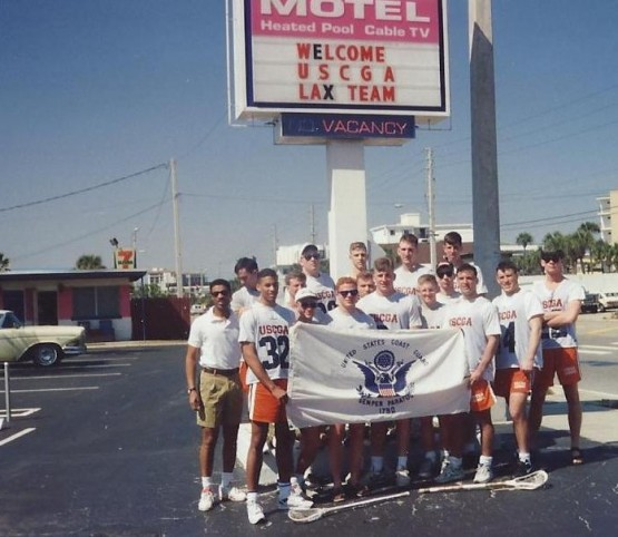 1994 spring break motel USCGA lacrosse