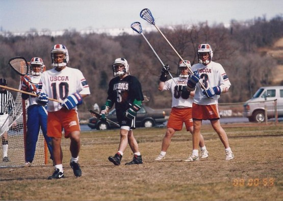 USCGA lacrosse defense 1994
