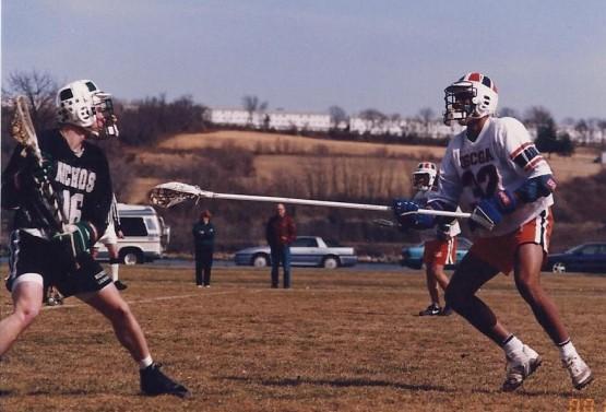 Mike Fredie 1994 USCGA lacrosse