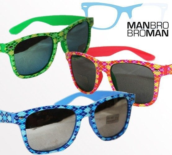Argyle Man Bro Bro Man Sunglasses