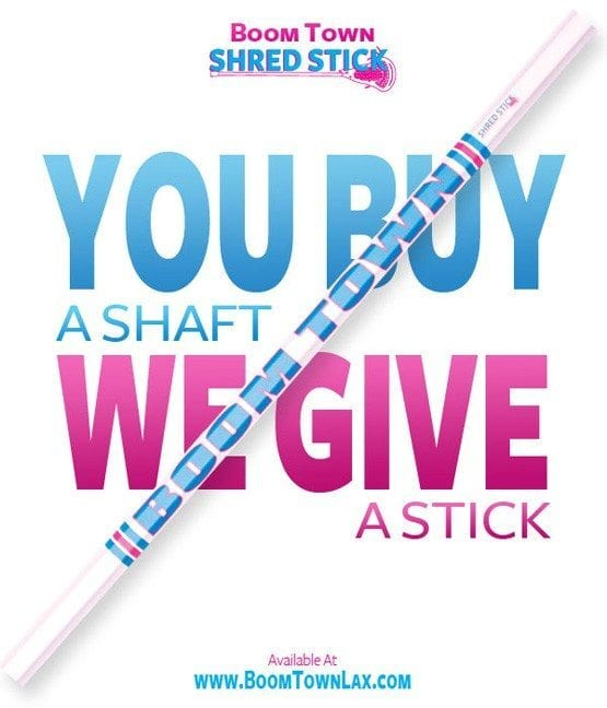 Boom Town Shred Stick 1-For-1 Program