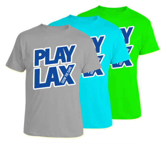 LAS 'Play Lax' Tee