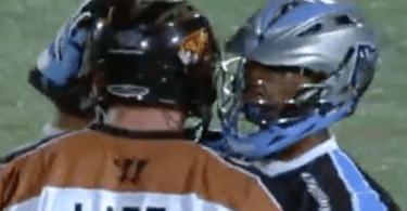 John Lade Chazz Woodson MLL lacrosse