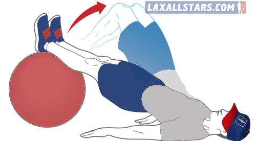 Swiss Ball Leg Curl