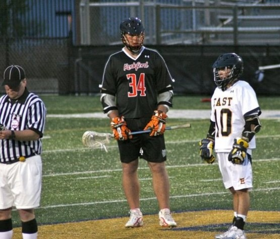 david goliath lacrosse face off