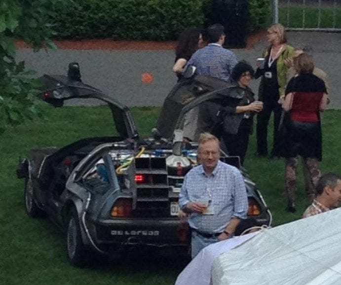 delorean at harvard