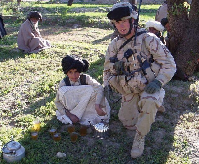 Derek Hines Afghanistan