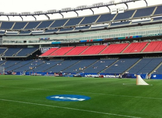 gillette stadium field final four lacrosse