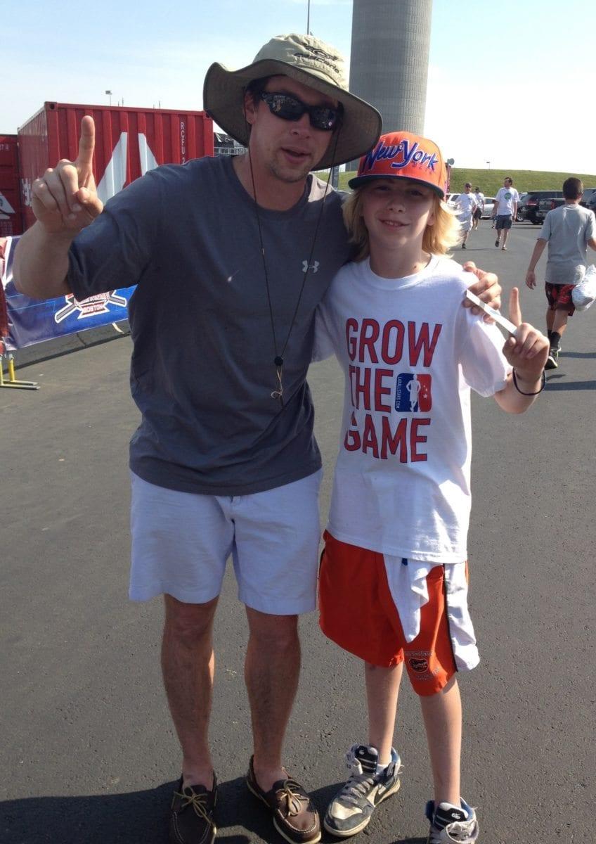 grow the game lacrosse fan