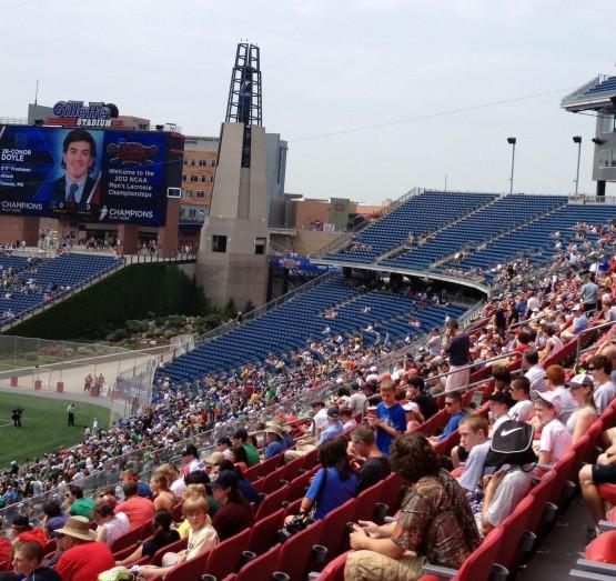 lacrosse final four fans boston