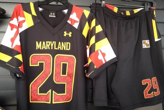 maryland lacrosse UA jersey