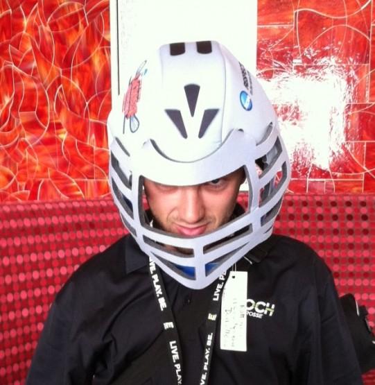 ncaa free lacrosse helmet