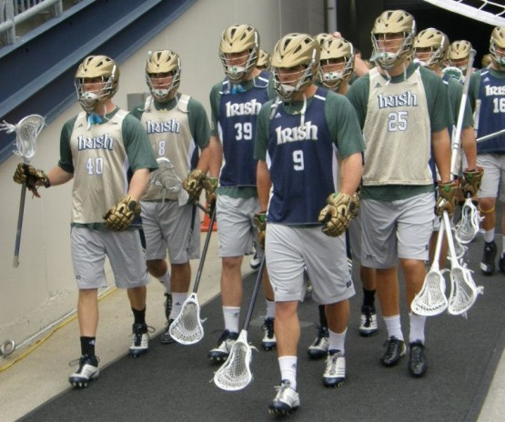 notre dame lacrosse final four walkthrough