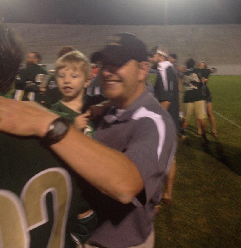 Coach Smith after the win.