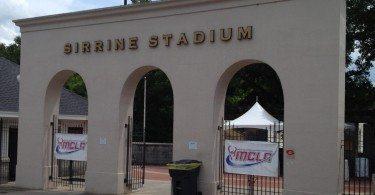 Sirrine Stadium entrance