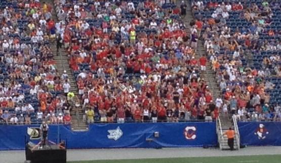 terp fans at the lacrosse final four