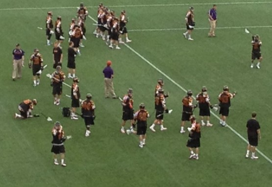 terp lax warm up