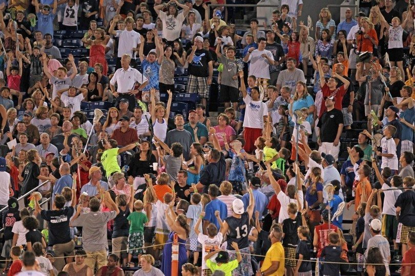 The Chesapeake Bayhawks' Fans