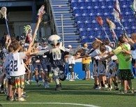 Bayhawks Go Through The Fan Tunnel
