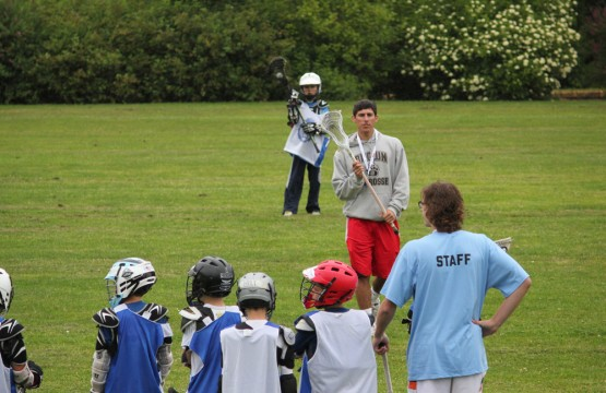 Nick Piroli at Rhino Lacrosse Camp