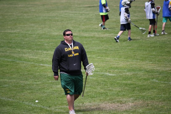 Ben Gaebel at Rhino Lacrosse Camp