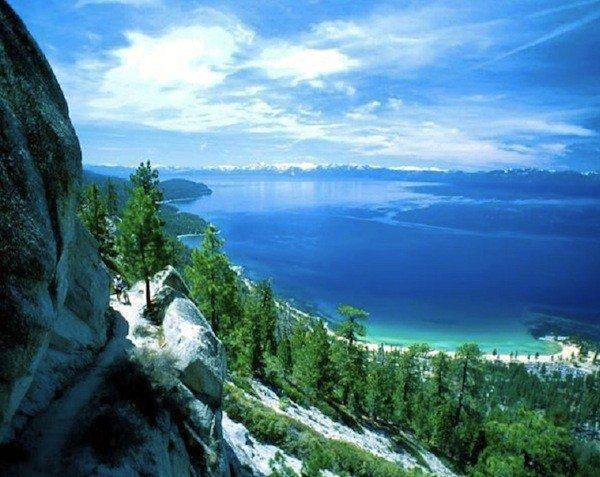 Ah, Lake Tahoe. We've missed you.