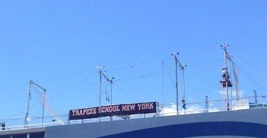 Trapeze school. Seriously.