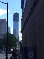 The Freedom Tower in NYC.
