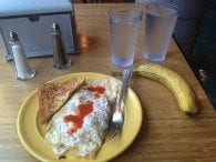 Breakfast, the meal of champions.