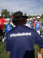 A 412 product. Join the movement #14yardbombsquad. Coach Mario is a proud member.