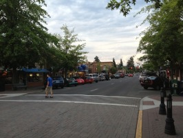 Downtown Bend. Awesome city.
