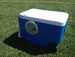 The cadillac of speaker coolers.