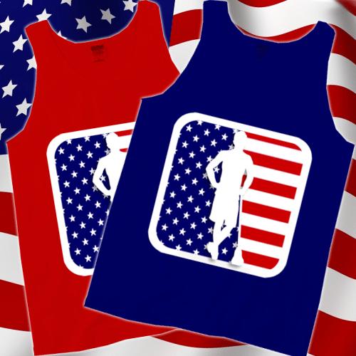 Lacrosse America Tanks
