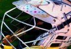 art lacrosse helmet