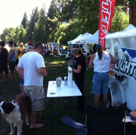 free beer tahoe lax