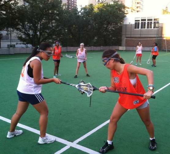 girls rooftop lacrosse nyc