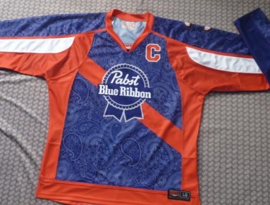 PBR BOX lacrosse jersey