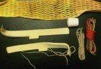 Vintage Mesh Stringing Kit Materials