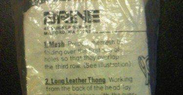 Vintage Mesh Stringing Kit