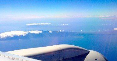 wing view - hawaii