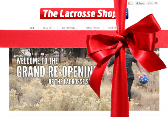 The Lacrosse Shop Ready For The Holidays
