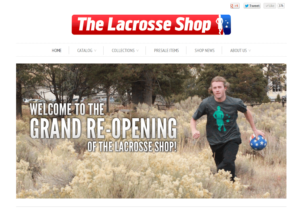 The Lacrosse Shop: Grand Re-opening
